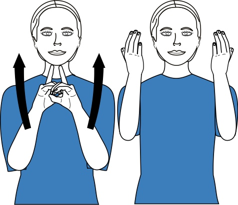 sign language for dedicate