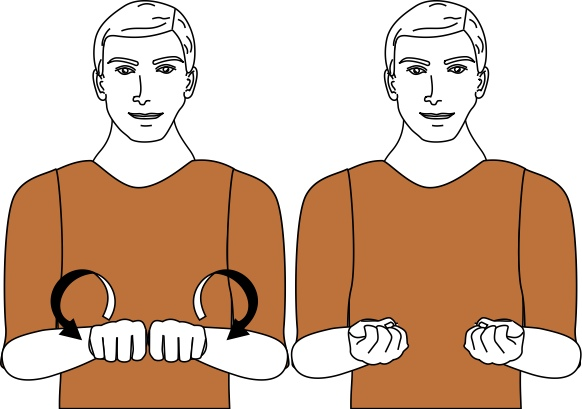 sign language for expose