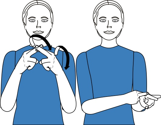 sign language for reward