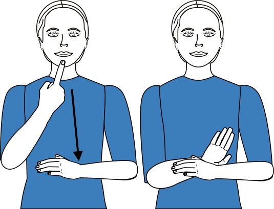 sign language for promise