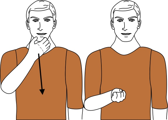 sign language for swear option 2