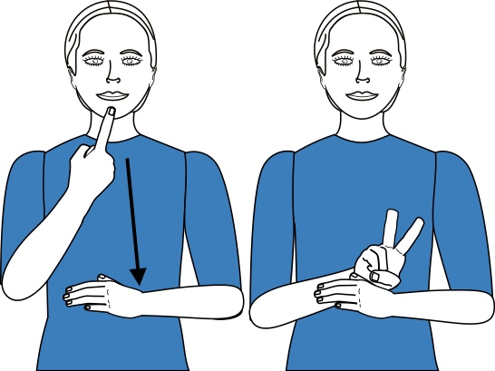 sign language for vow